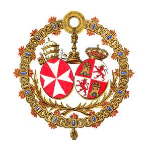 Escudo Amargura - Domingo de Ramos en Sevilla