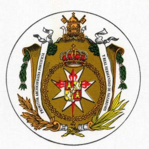 Escudo Amor - Domingo de Ramos en Sevilla