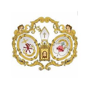 Escudo Caridad y Salud Lunes Santo Jaén