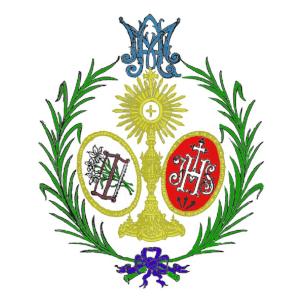 Escudo San Jose Obrero Sábado de Pasión Sevilla