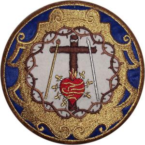 Escudo la Lanzada Martes Santo Huelva