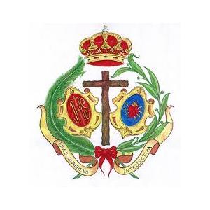 Escudo los Estudiantes Martes Santo Huelva